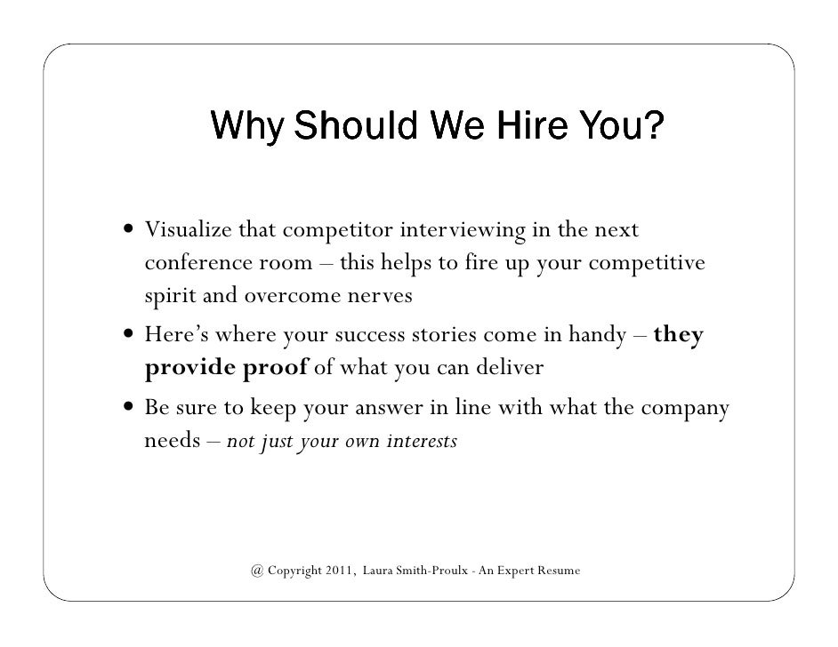 why should we hire you best answers juve cenitdelacabrera co