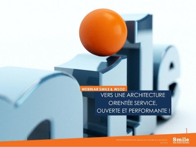 Webinar smile et wso2 esb vers une architecture orient e for Architecture orientee service