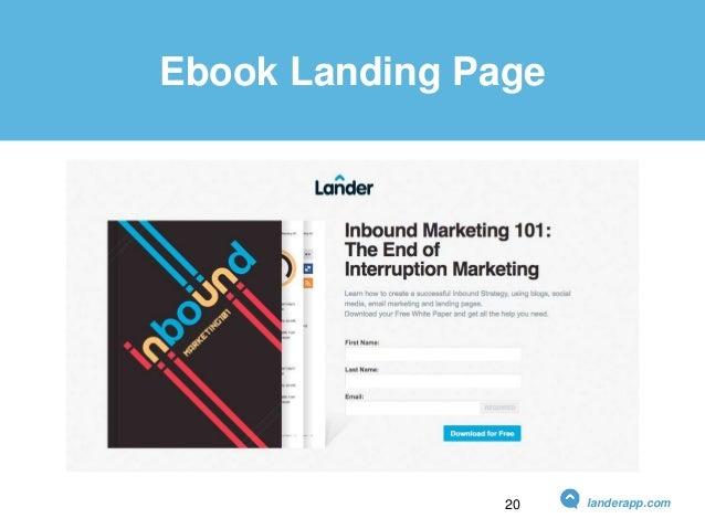 Ebook Landing Page landerapp.com20