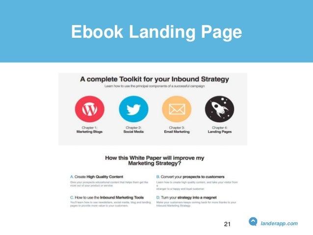 Ebook Landing Page landerapp.com21