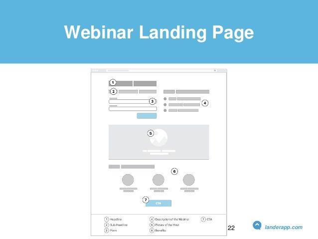 Webinar Landing Page landerapp.com22