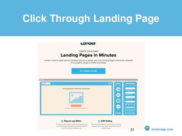 Click Through Landing Page landerapp.com31