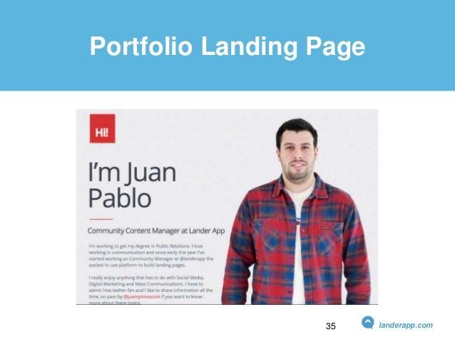 Portfolio Landing Page landerapp.com35