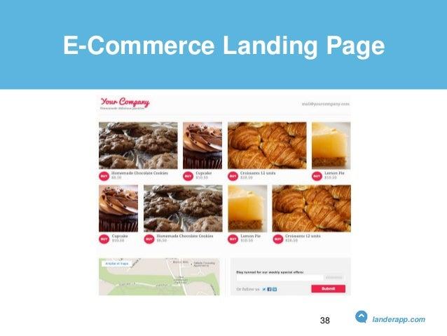 E-Commerce Landing Page landerapp.com38