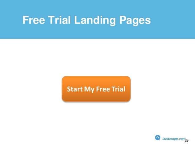 Free Trial Landing Pages landerapp.com 39