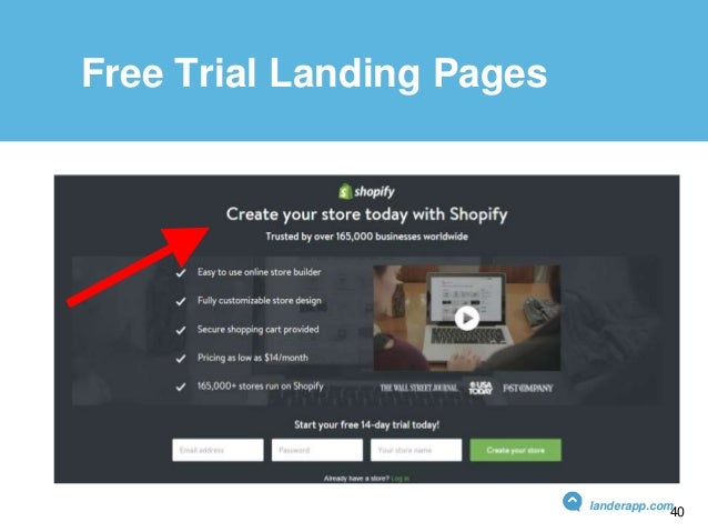 Free Trial Landing Pages landerapp.com 40