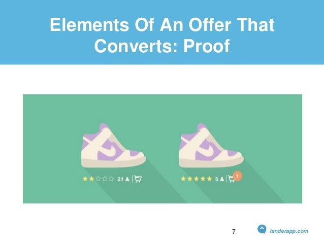 Elements Of An Offer That Converts: Proof landerapp.com7
