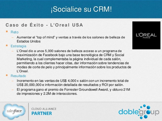Webinar socialice su crm for Salon crm