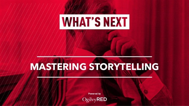 Powered by MASTERING STORYTELLING