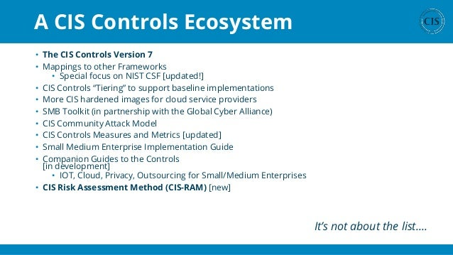 Top 20 Security Controls for a More Secure Infrastructure