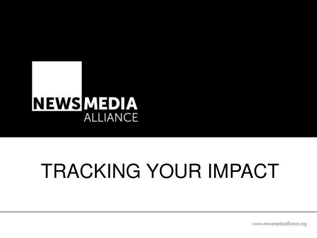 TRACKING YOUR IMPACT