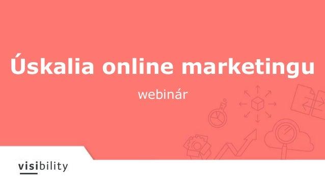 Úskalia online marketingu webinár