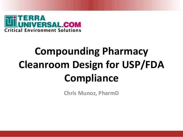 USP 797800 Cleanroom Compliance by Terra Universal