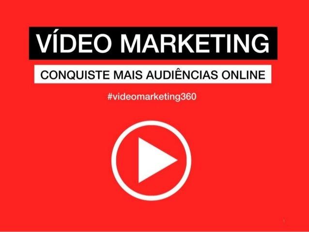 Criação profissional de vídeos | www.vascomarques.com 1