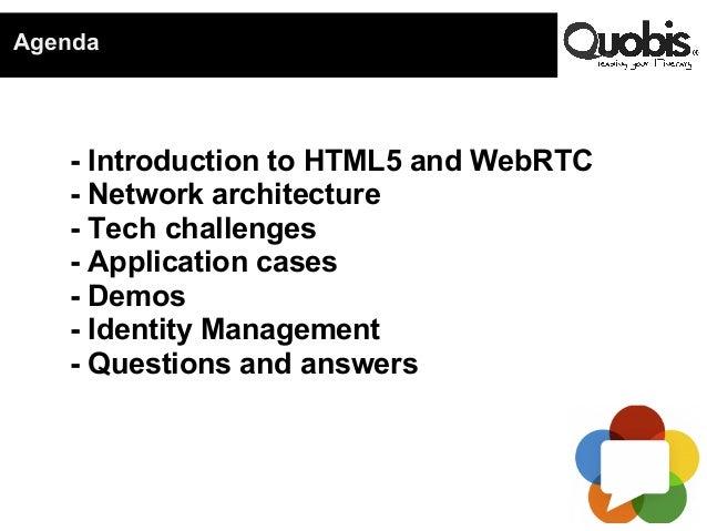 Webinar WebRTC HTML5 (english)