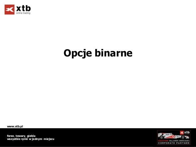 Tb binary options