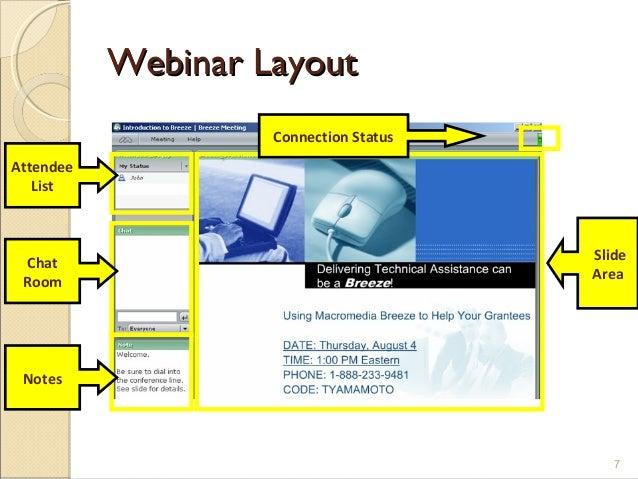 webiner presentation