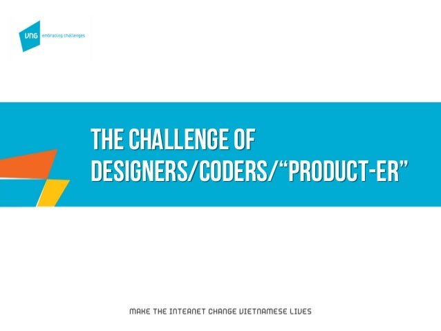 """The challenge of designers/coders/""""PRODUCT-ER"""""""