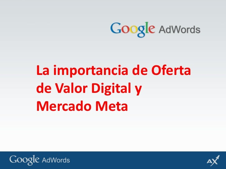 La importancia de Oferta de Valor Digital y Mercado Meta<br />