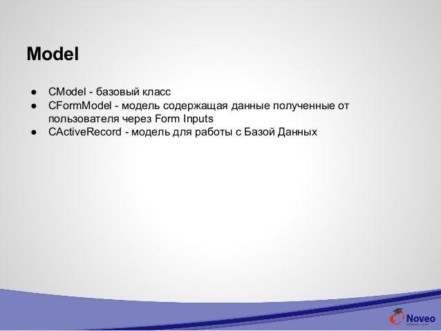 Web internship Yii Framework