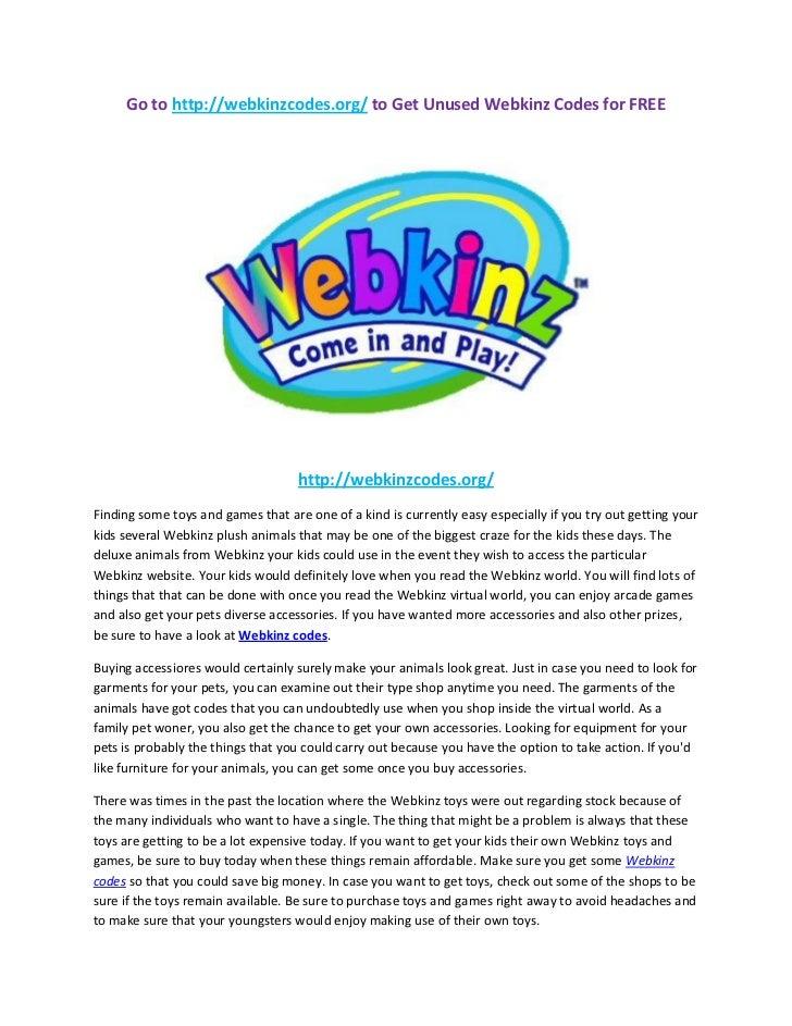 Go to http://webkinzcodes.org/ to Get Unused Webkinz Codes for FREE                                    http://webkinzcodes...