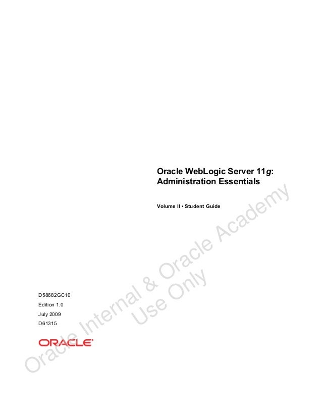 Buy oracle weblogic server 11g administration handbook book online.