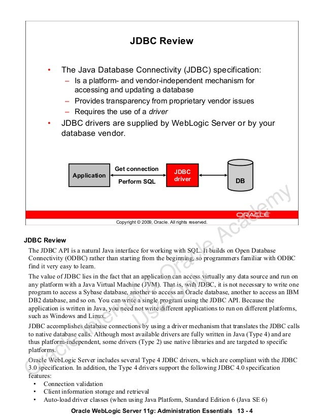 Oracle Weblogic 11g admin guide 2