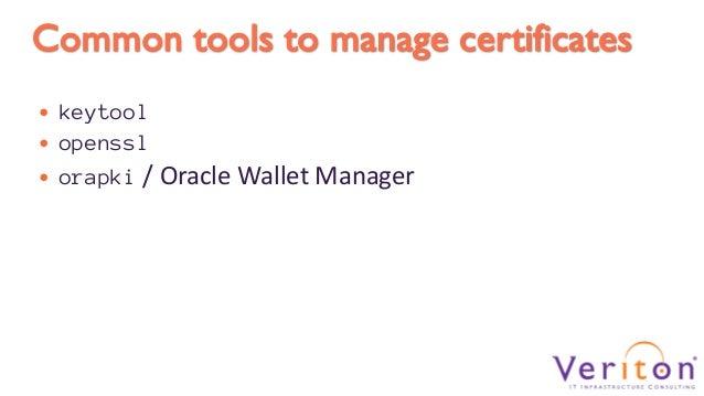 WebLogic in Practice: SSL Configuration