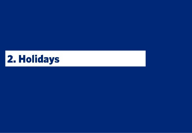Webloyalty Travel & Leisure 2013 report: Holidays