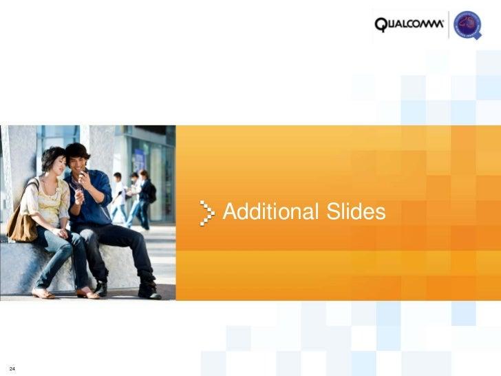Additional Slides24