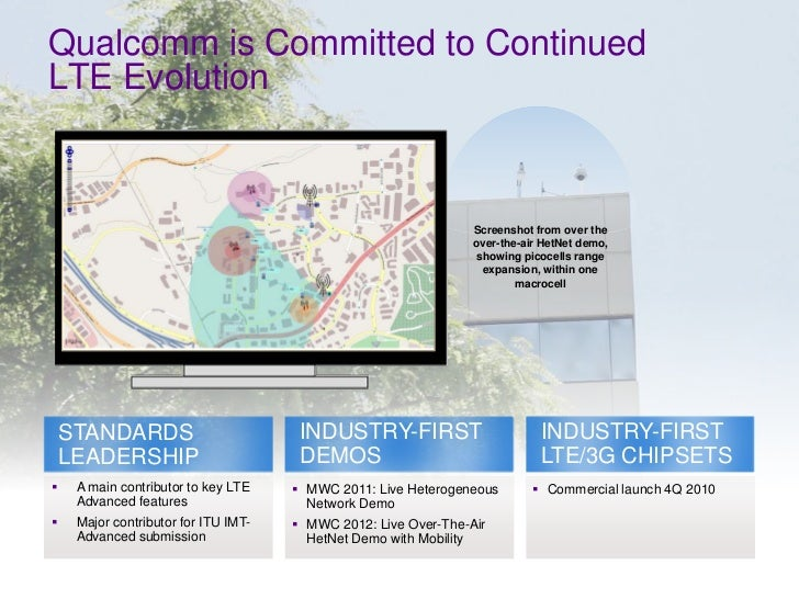Qualcomm is Committed to Continued    LTE Evolution                                                                     Sc...