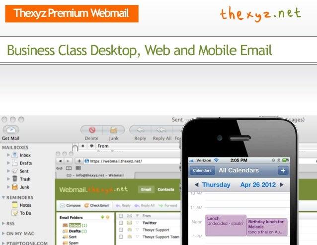 Thexyz Premium Webmail