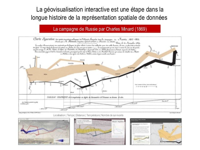 La géovisualisation interactive est une étape dans la longue histoire de la représentation spatiale de données La campagne...