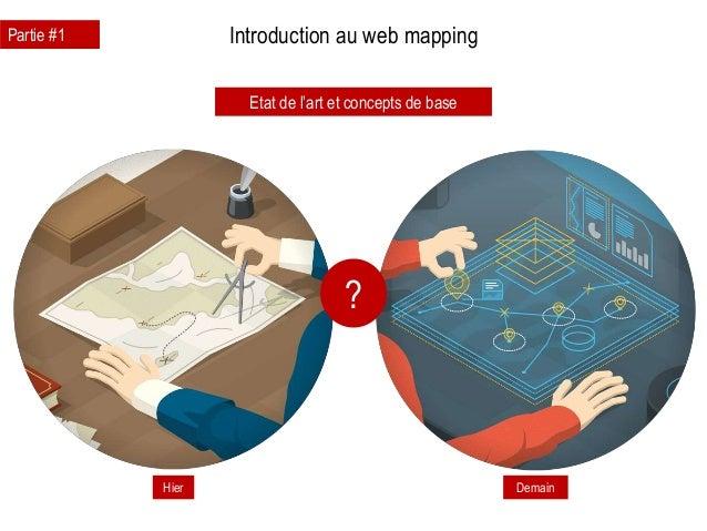 Introduction au web mapping Hier Demain Etat de l'art et concepts de base Partie #1 ?