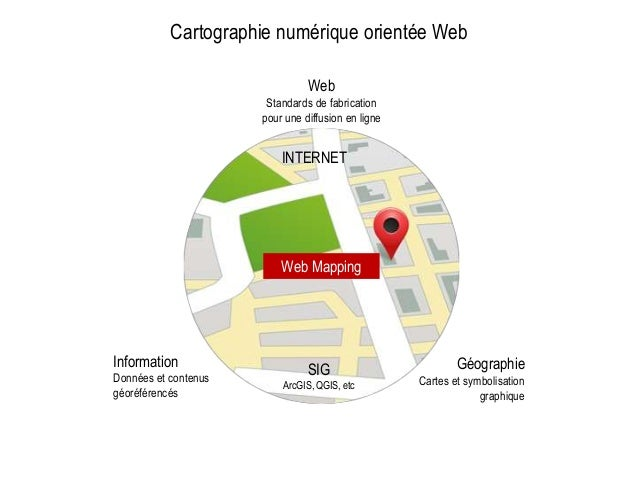 Information Données et contenus géoréférencés Géographie Cartes et symbolisation graphique Web Standards de fabrication po...