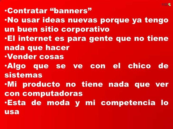 "<ul><li>Contratar ""banners"""