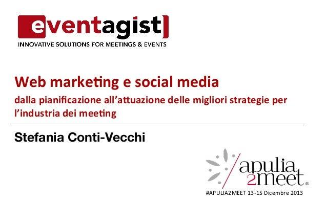 Web  marke)ng  e  social  media   dalla  pianificazione  all'a6uazione  delle  migliori  strategie  p...