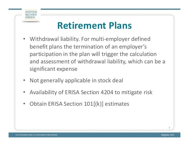 Stock options erisa