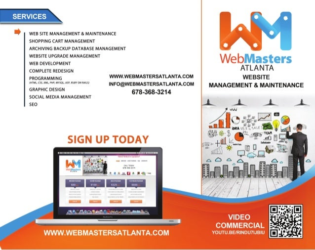 WebSite Updates, Management & Maintenance Services Atlanta, GA