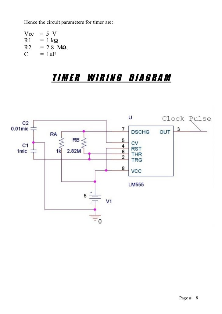 traffic lights logic controller 8
