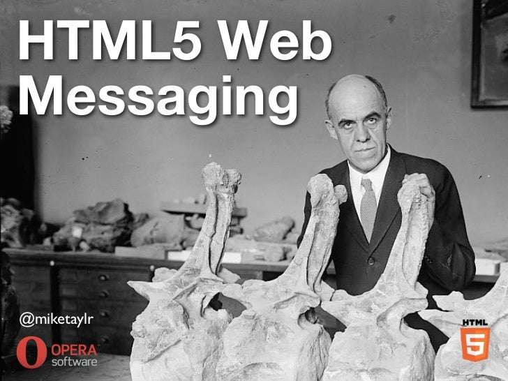 HTML5 WebMessaging@miketaylr