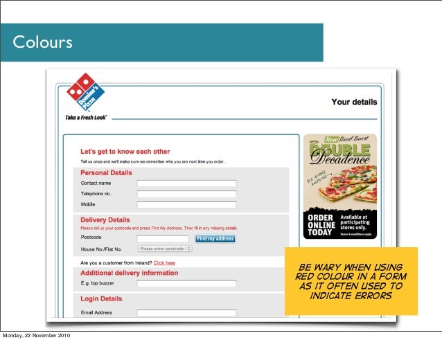 How To Indicate Required Fields Web Design