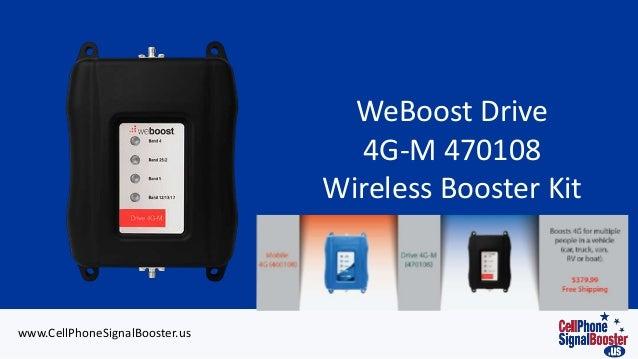 Wilson weBoost 4G-M Car Cell Booster | 470108/ 460108