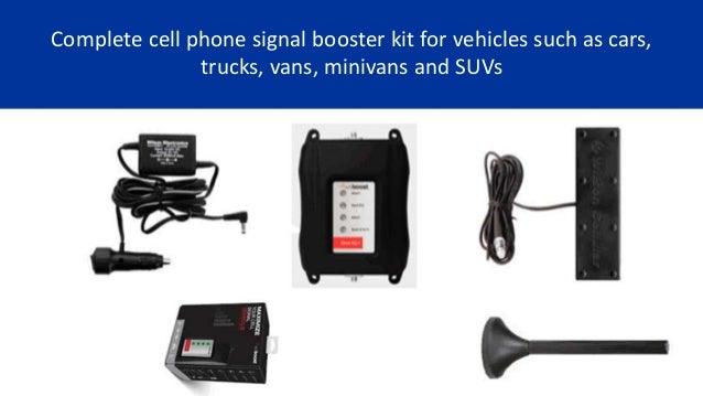 Wilson weBoost 4G-X Car Cell Phone Booster | 470510
