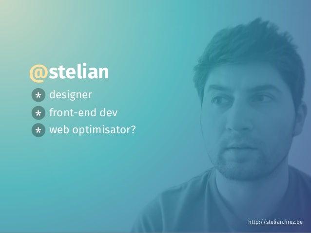 Web optimisation in the age of mobile Slide 2
