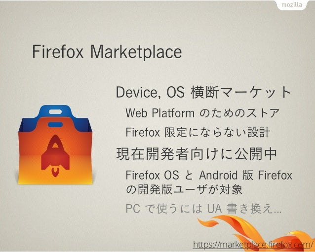 Firefox OS のアプリ開発いつもの開発ツールいつものエディタいつものライブラリ