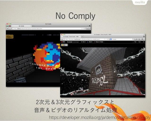 デバイス間連携の進化Web ActivitiesPush NotificationWeb Intents (終了)この辺の話はカエルさん(小松さん)に聞きましょう