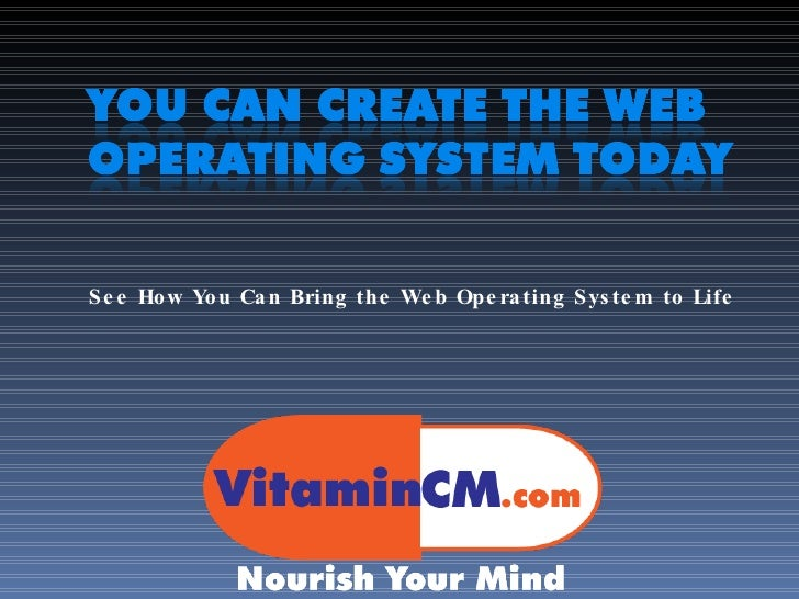You can create the web operating system today Where can i make a website