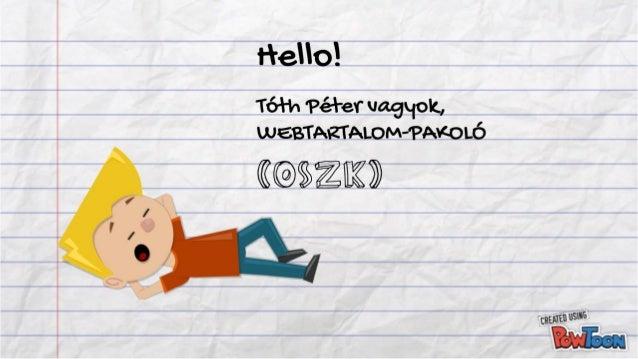 Az OSZK a weben – Tóth Péter, Országos Széchényi Könyvtár