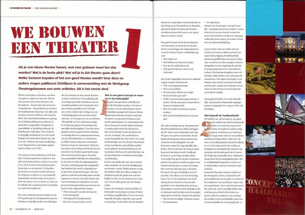We bouwen een theater deel 1